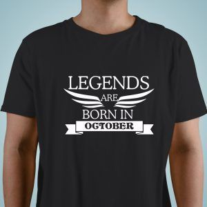 Legends are born october